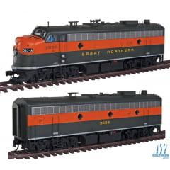 Locomotiva F7A/B Com Som e DCC