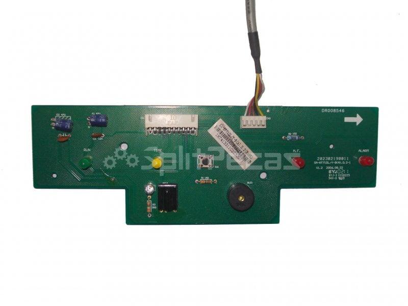 Display Ar Condicionado evaporadora Piso Teto Midea 36.000 48.000 60.000btus