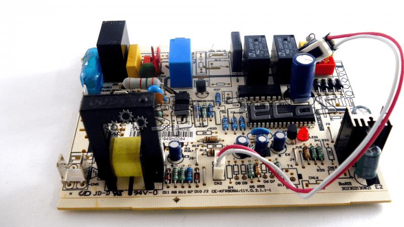Placa de comando da condensadora carrier / midea  201335490040