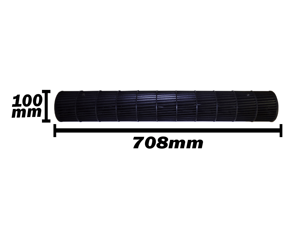 Turbina Evaporadora  Komeco 18.000 Btus 100x708 Btus 0200322457