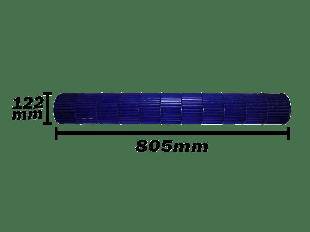 Turbina Evaporadora Komeco 24.000 e 30.000 Btus 122X805 0200320296