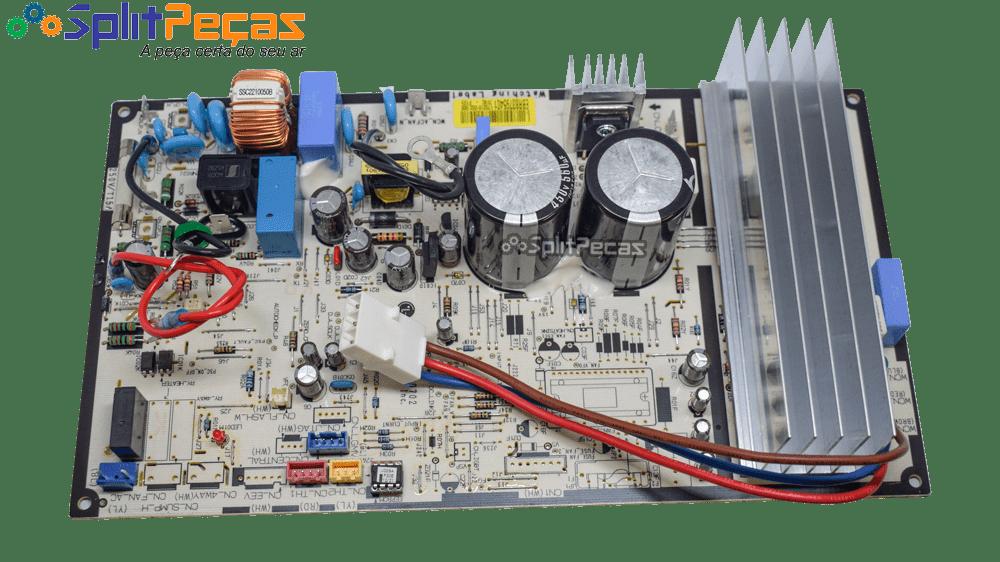 Placa da Condensadora LG Inverter 9.000 Btus EBR83795401