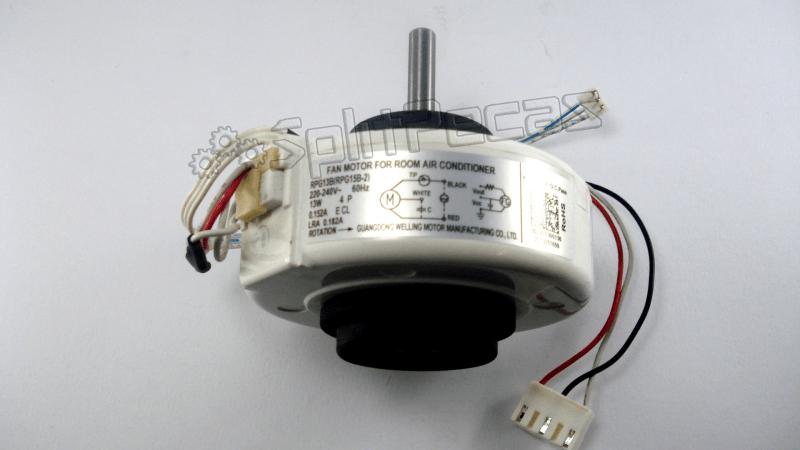 Motor ventilador evaporadora Electrolux  0030W136
