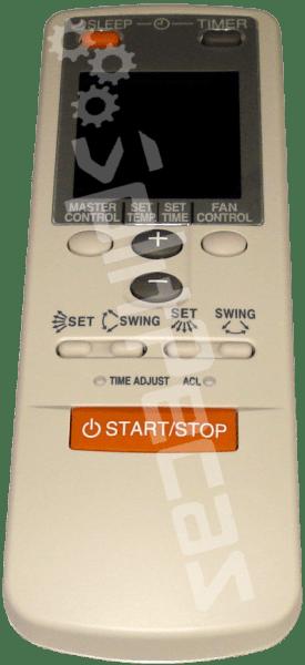 Controle remoto ar condicionado Fujitsu  9374322220