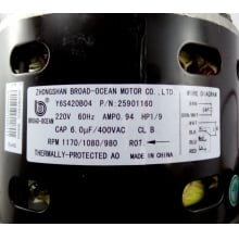 MOTOR DA EVAPORADORA SPRINGER SPACE 48 E 60  25901160