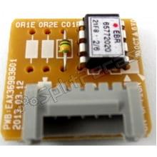 Sub Placa eletrônica do Ar Condicionado LG Inverter   EBR65772020