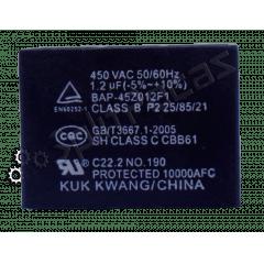 Cacitor da Placa Evaporadora de 1,2 uf 2301-001915