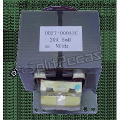 Bobina de Indução Condensadora Samsung Inverter 24.000 Btus DB27-00043C