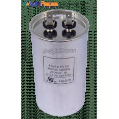 Capacitor de Partida do Compressor 80uF + 5% SH 440VAC 50/60 HZ (2 Terminais)