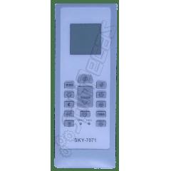 Controle Remoto sem fio do Ar Condicionado Electrolux 9.000 a 24.000 Btus. SKY-7071 550A2103
