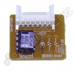 Sub Placa Eeprom Eletrônica Do Ar Condicionado Lg 9.000 Btus  EBR76464002