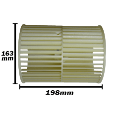 Turbina Evaporadora Springer 12.000 a 60.000 Btus 163x198 42819018