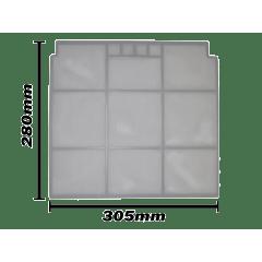 Filtro ar Esq Samsung Max Plus de 9.000 e 12.000 BTU'S -  DB63-02143G