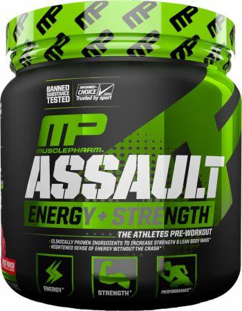 Pre Treino Assault MusclePharm 345G - 30 servings