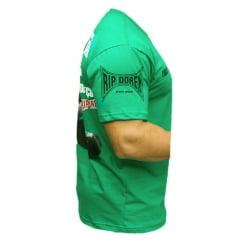 Camiseta Manga Curta O Chão é o Começo Verde
