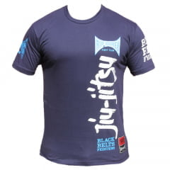 Camiseta Manga Curta Black Belts Fighters Of Jiu-Jitsu