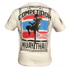 Camiseta Manga Curta Brazilian Muay Thai Honor & Glory