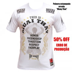 Camiseta Manga Curta Fairplay This is Muay Thai