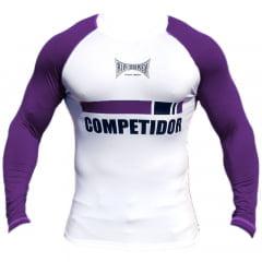 Camisa de treino Faixa Roxa Competidor