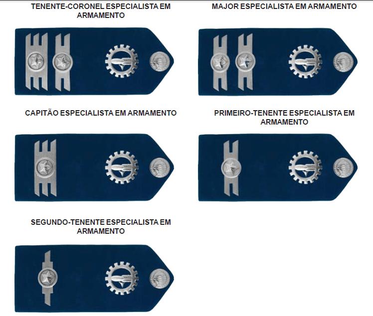 Platinas - ESPECIALISTA EM ARMAMENTO (PAR)