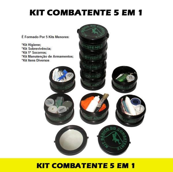 Kit para Acampamento 5 em 1