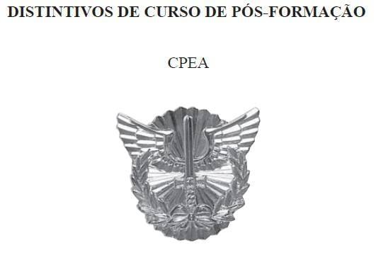 Distintivo do CPEA