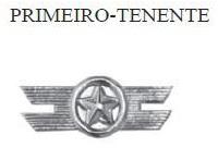 Insígnia de 1º Tenente Metálica