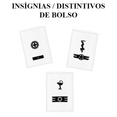 Insígnia/Distintivo de bolso do 13º Uniforme