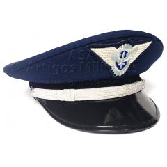 5d57ea0fd2861 Quepe Masculino com Crachá de Oficial da Aeronáutica