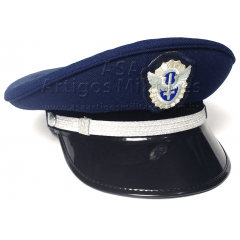 bb8b3d5f9aa23 Quepe Masculino com crachá de Sargento da Aeronáutica