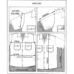 Canícula interna masculina do 7° uniforme