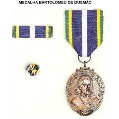 MEDALHA BARTOLOMEU GUSMÃO