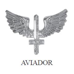 Distintivo de Aviador Metálico