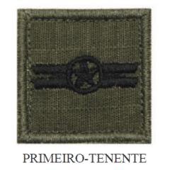 Insígnia de 1º Tenente Bordada com Velcro