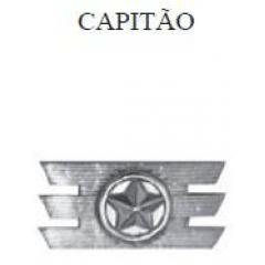 Insígnia de Capitão Metálica