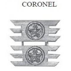 Insignia de Coronel Metálica