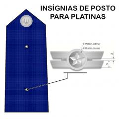 Insígnias de Posto para Platinas (PAR)