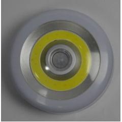 Luminária de led com fixador de imã e disco de led