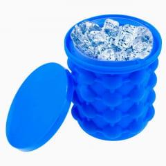 Mini Balde de Silicone Para Produzir Gelo - Ice Genie