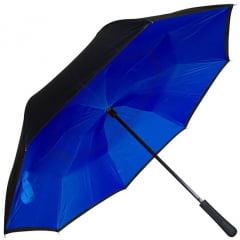 Guarda-Chuva Invertido Dupla Camada - Abre ao Contrário